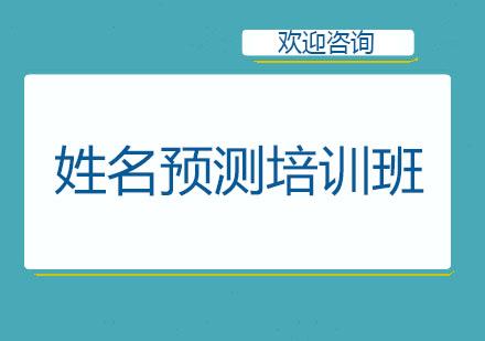北京職業指導師培訓-姓名預測培訓班