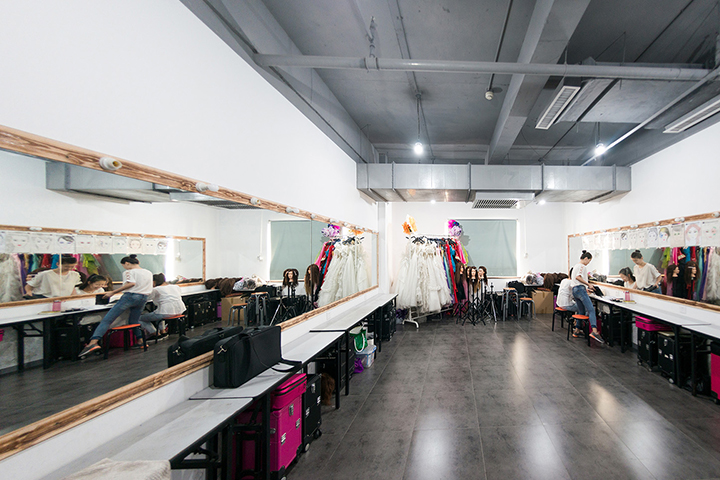 天津雅典娜職業教育_化妝教室