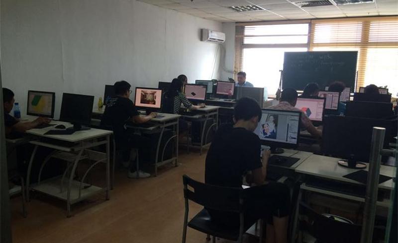 天津博奧教育_學員在上課