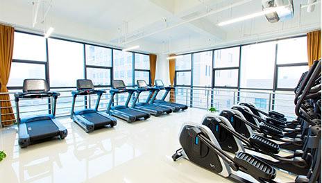 重慶賽普健身教練培訓基地_跑步訓練場地