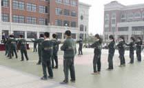 上海楓葉國際學校_軍訓相冊