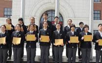 上海楓葉國際學校_師生合照