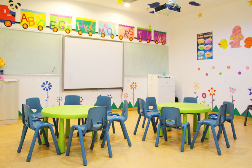 成都瑞思學科英語_教室學習環境