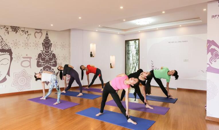 上海體適能健身培訓_瑜伽訓練