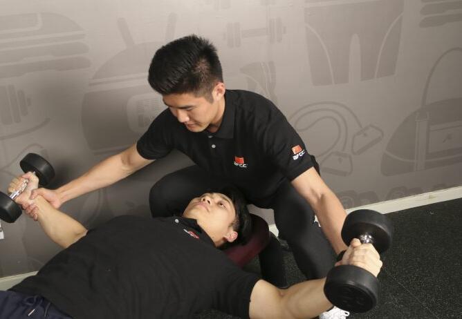 上海體適能健身培訓_訓練課堂