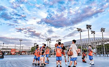 上海五星體育_校內籃球比賽
