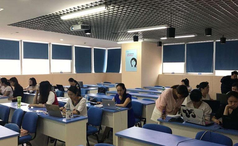 上海秀財會計教育_課堂學習