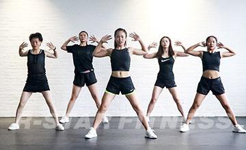 上海銳星健身_課堂訓練