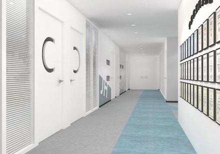 教學樓走廊環境