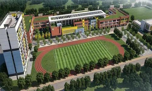 學校俯視圖