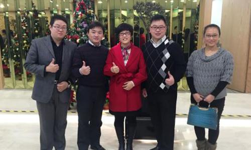 北京光環國際教育_合影